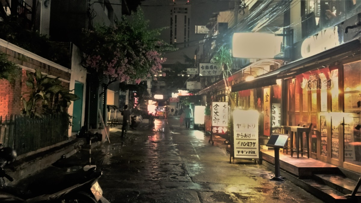 Japanese district in Bangkok