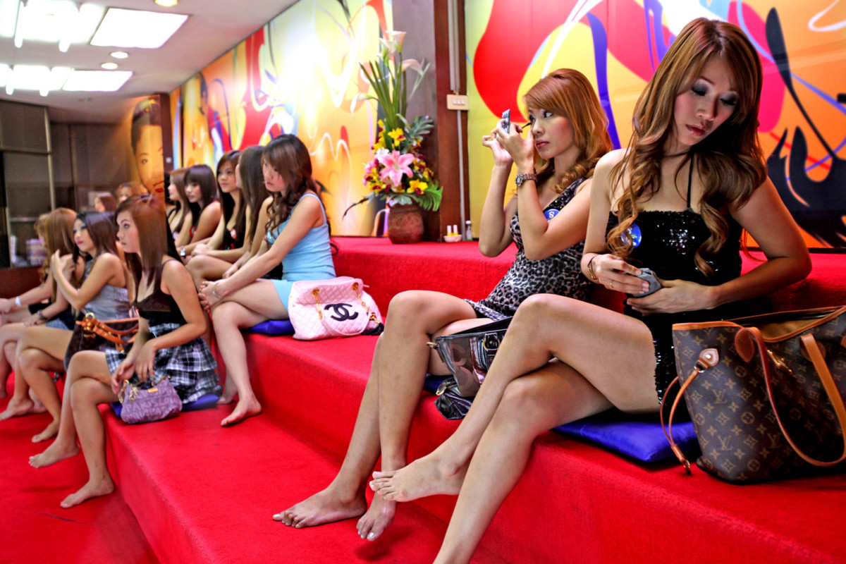 Massage parlours in Bangkok