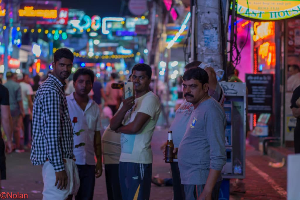 Indian men in Pattaya