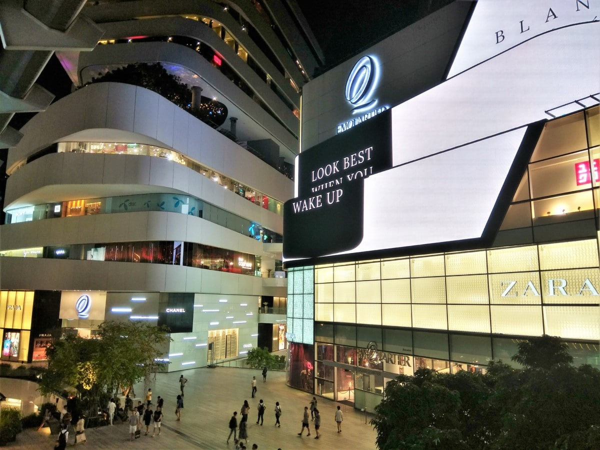 Bangkok's Most Popular Shopping Malls