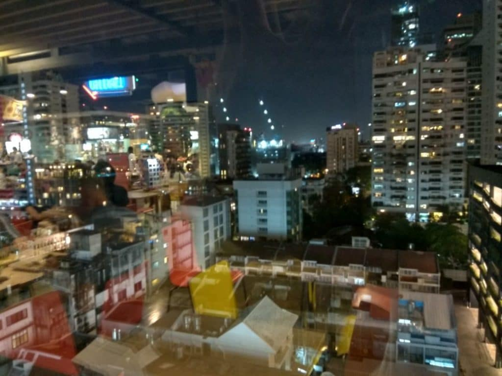 view over asok are from terminal 21